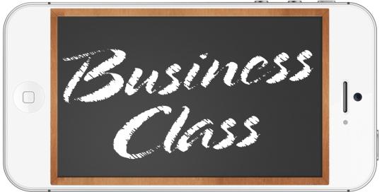 Business Class by Randall Kenneth Jones
