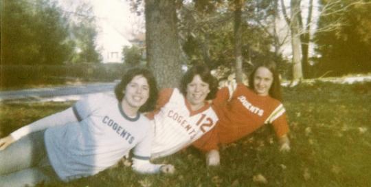 Girls softball: Paula Perfect Jones, Galen Sights, Mary Hill